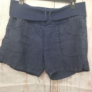 Athleta Lima Linen Shorts